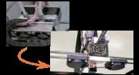 造形ヘッドの軽量化